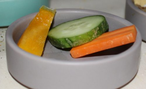 Gemüse als Hamsterfutter