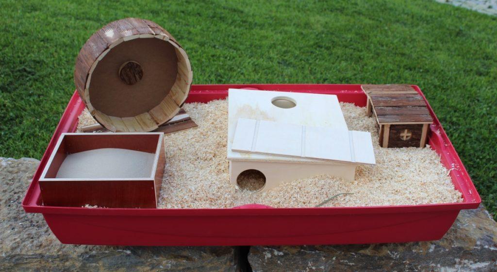 Sinnvolle Ausstattung des Hamsterkäfigs