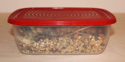 Richtige Lagerung von Hamsterfutter